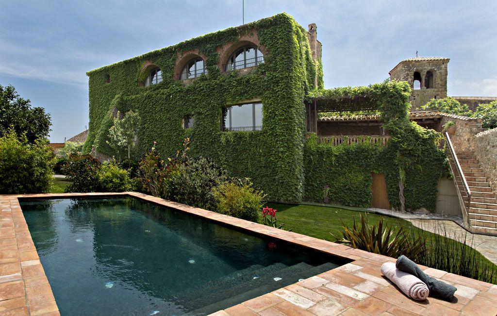 Hotel rural con piscina en girona costa brava enc s d - Piscina devesa girona ...